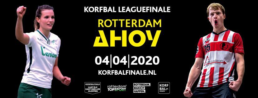Met Tiel'72 naar de Korfbal League-finale in Ahoy!